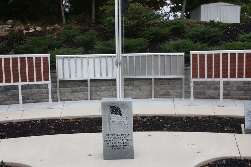 Veterans Wall Gets Final Addition