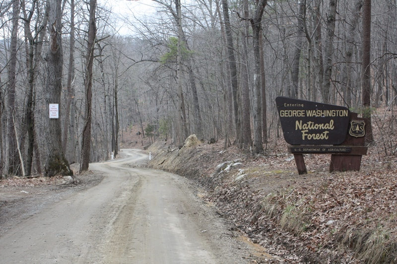 Cub Run Road closure at Catherine Furnace