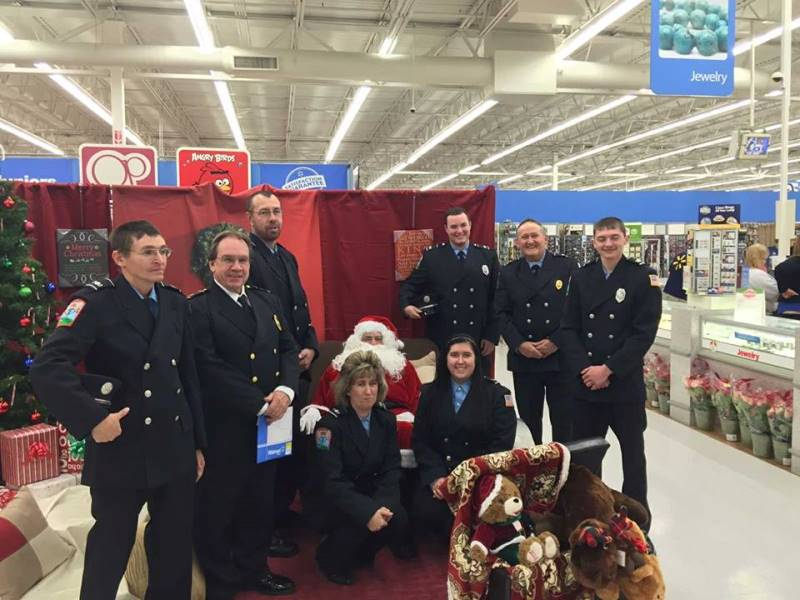 Page Valley Fraternal Order of Police Hosted Holiday's with a Hero