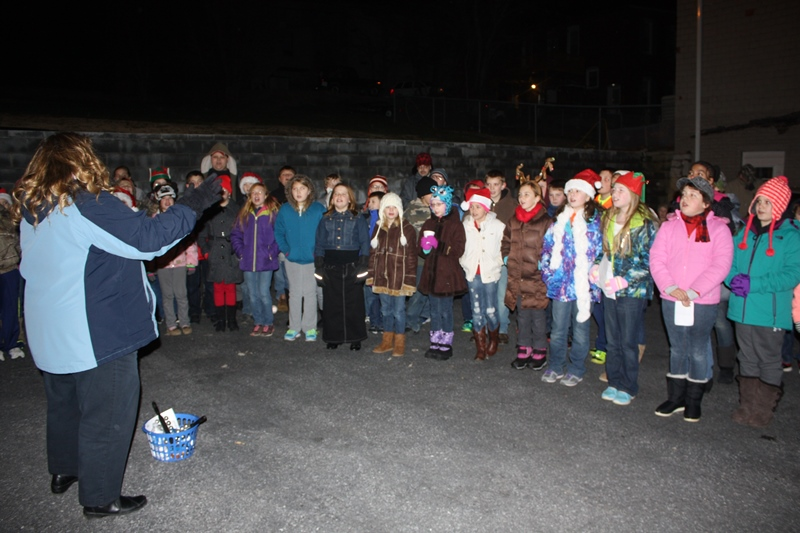 Christmas Program on First Street 2014